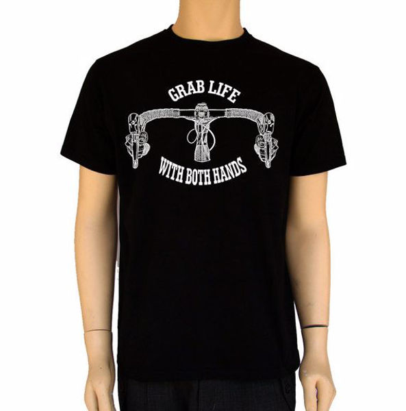 תמונה של Grab Life With Both Hands-Bike Shirt