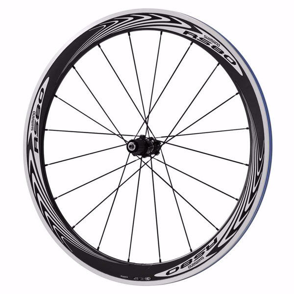 תמונה של Shimano (WHRS80) 8-9-10 Spd Road Carbon Wheel Rear Clincher C24