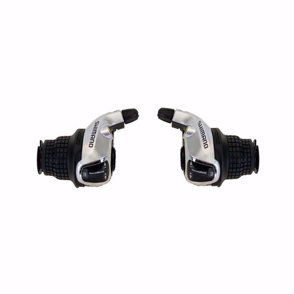 תמונה של Shimano (RS45) 7 Spd Grip Shift Lever Set