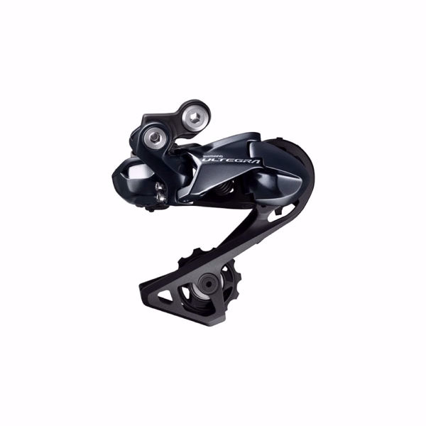 תמונה של Shimano (R8050) Ultegra DI2 11 Spd Super Short Rear Derailleur Shadow Direct Attachment