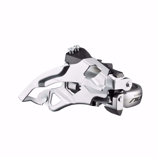 תמונה של Shimano (DT4000) 9 Spd Front Derailleur Band Type Top Swing
