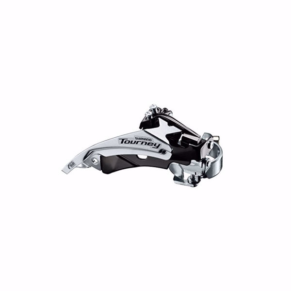 תמונה של Shimano (TY510) Tourney 6/7 Spd Front Derailleur Top Normal Dual Pull Top Swing