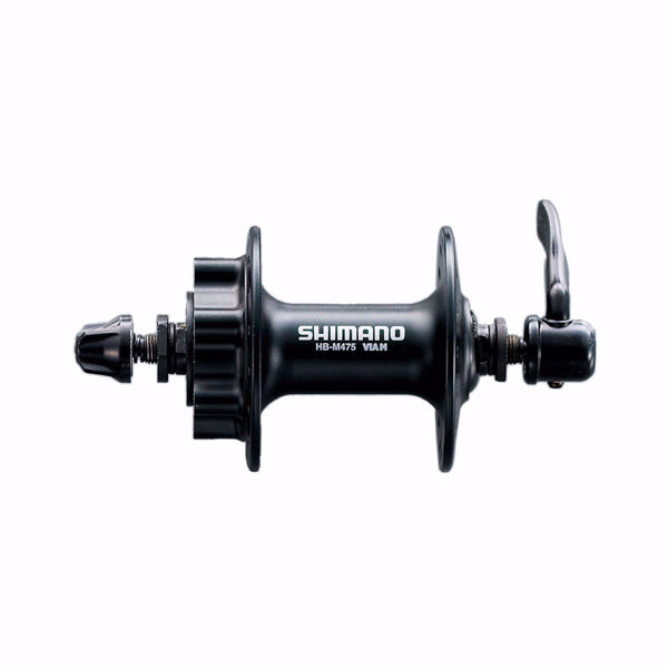 תמונה של Shimano (475) 8/9 Spd Front Hub For 6-Hole Disc