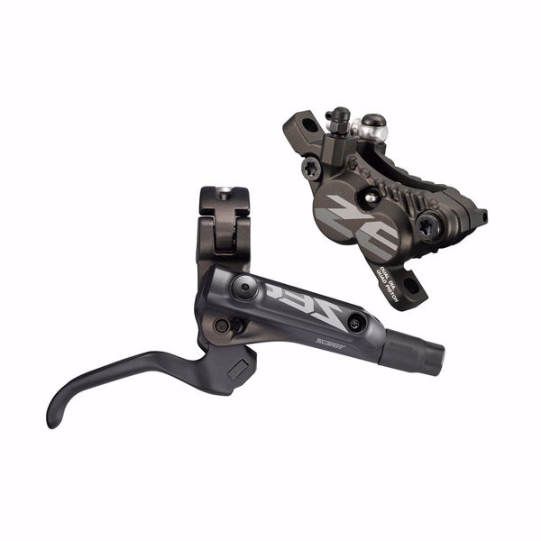 תמונה של Shimano (640) ZEE Disc Brake Rear Assembled (Caliper, Lever, Pad, Hose, W/O Adapter) W/O Rotor