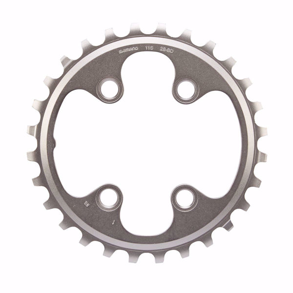 תמונה של Shimano (8000) XT Chainring 28T-BD For 38-28T
