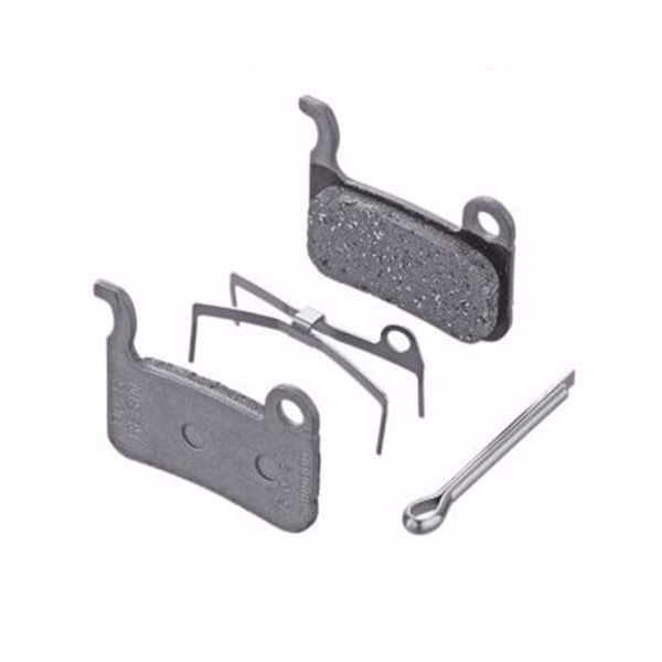 תמונה של Shimano (A01S) Resin Pad & Spring W/ Split Pin For BRM975/800/775/765/585
