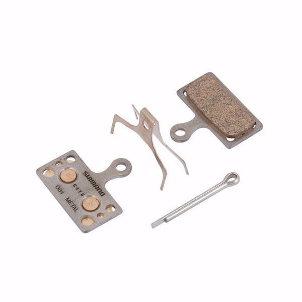תמונה של Shimano (G04A) Metal Pad & Spring W/ Split Pin For BRM8000