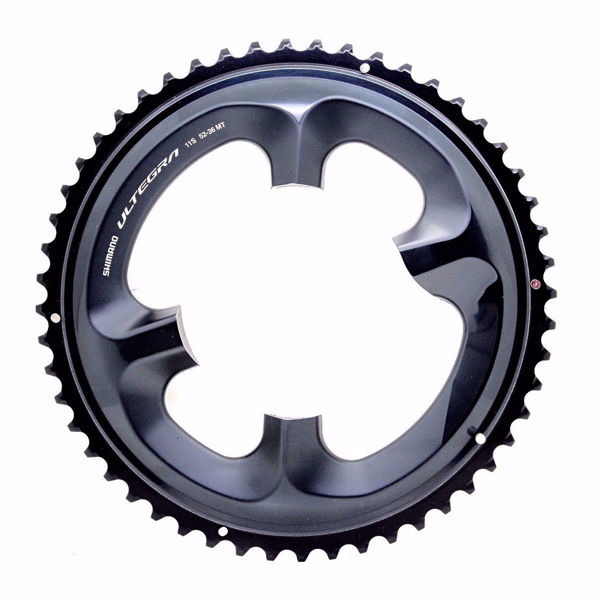 תמונה של Shimano (R8000) Chainring 52T-MT For 52-36T