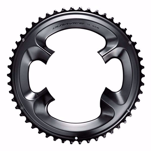 תמונה של Shimano (R9100) Chainring 50T-MS For 50-34T